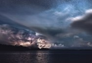 Picture of the Day: Stars and Storms in Kasnas, Finland
