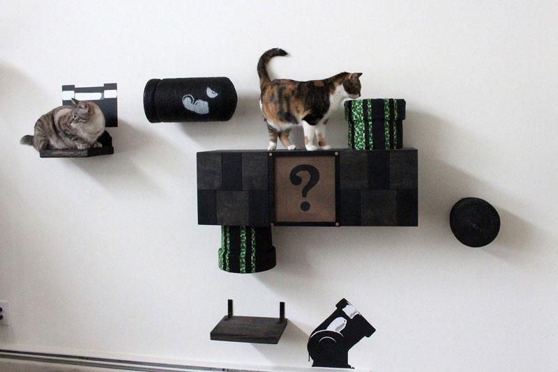 super mario cat furniture by catastrophic creations (8)