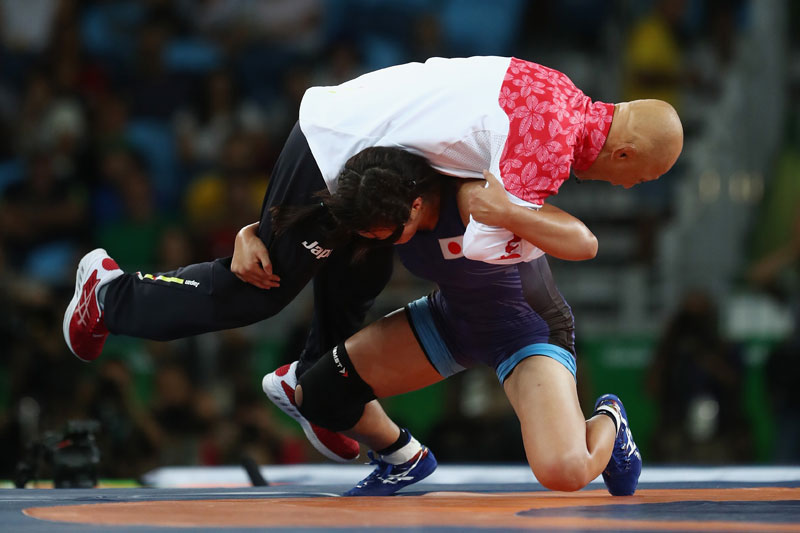 The Japanese Wrestling Team and Their Coach Had the Best Celebrations at the Olympics