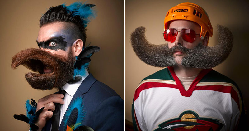 Majestic Highlights from the 2016 National Beard and Moustache Championships