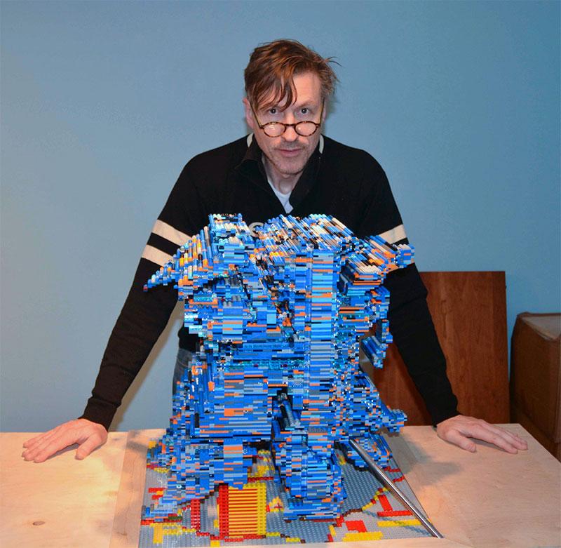 3-in-1 LEGO Shadow Sculptures by John Muntean (3)