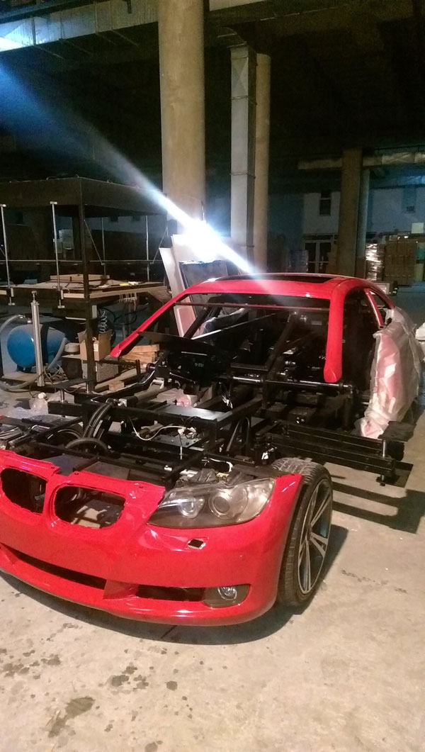 bmw transformer by letrons 1 Turkish Engineers Build Full Scale, Driveable BMW Transformer