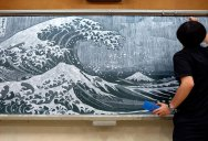 Teacher Delights Students With Incredible Chalkboard Drawings