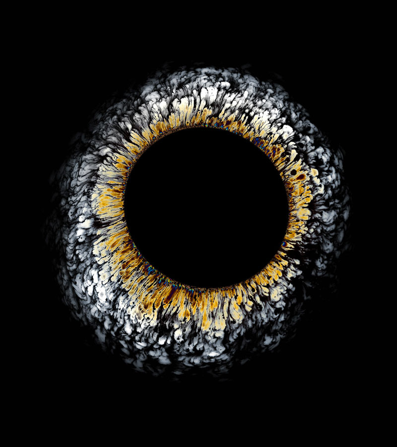 High Speed Photos of Oil Dropped Into Water Look Like Surreal Eyes by fabian oefner (3)