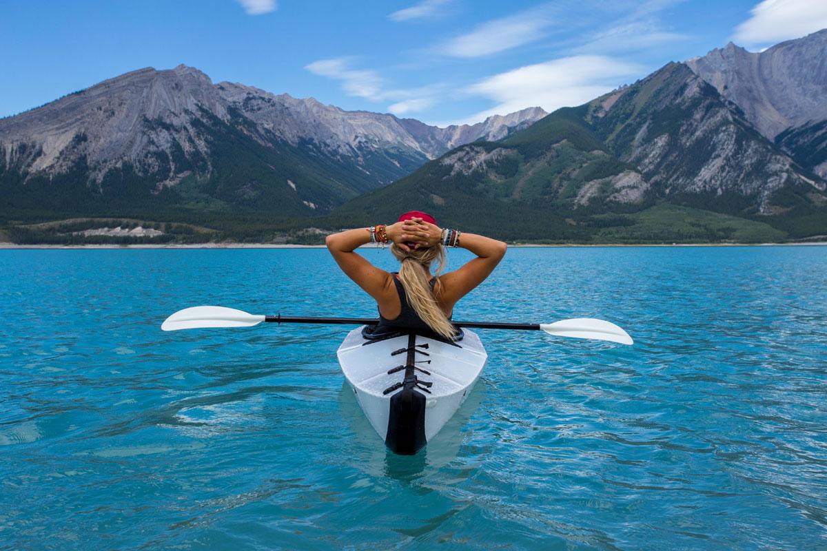 kayaking nordegg alberta canada by kalen emsley Picture of the Day: Kayaking in Nordegg, Canada
