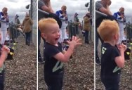 This Kid at His First Moto GP Race is What Pure, Genuine Excitement Looks Like
