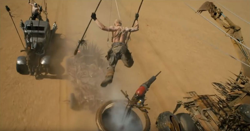 Fury Road Proves Stunt Performers and Practical Effects Still Matter