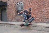 Stop Motion Human Skateboard (HD Remastered)