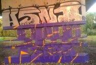 Transparent Graffiti Illusion by Milane Ramsi