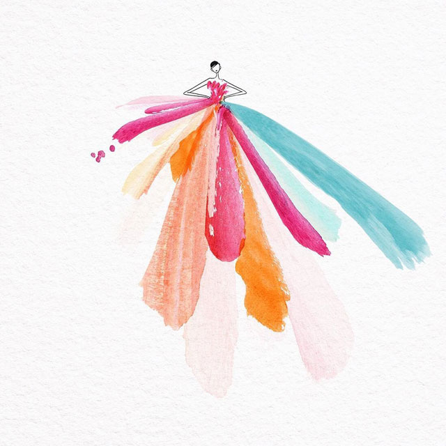 watercolor gowns by jaesuk kim instagram (7)