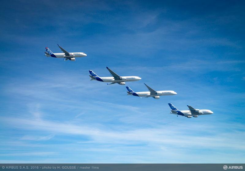 airbus family flight 1 Airbus Family Flight Joy Ride