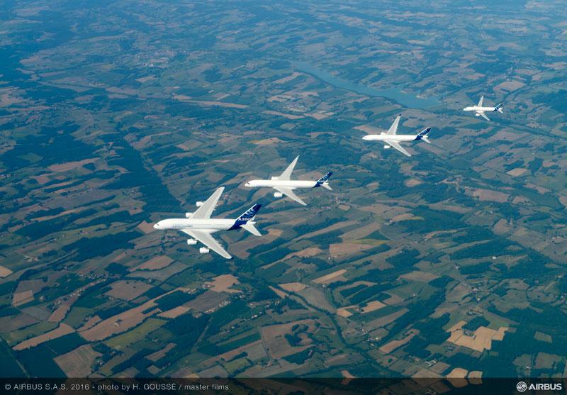 airbus family flight 4 Airbus Family Flight Joy Ride