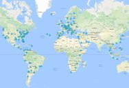 Interactive Map for Airport WiFi Passwords Around the World