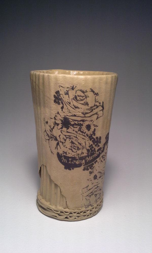 ceramic cardboard by tim kowalczyk 4 Ceramic Artist Tim Kowalczyk Can Make Clay Look Like Cardboard