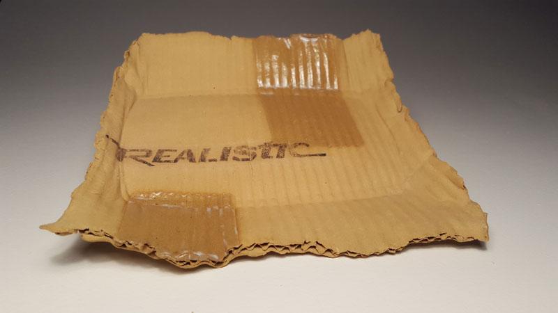 ceramic cardboard by tim kowalczyk 5 Ceramic Artist Tim Kowalczyk Can Make Clay Look Like Cardboard
