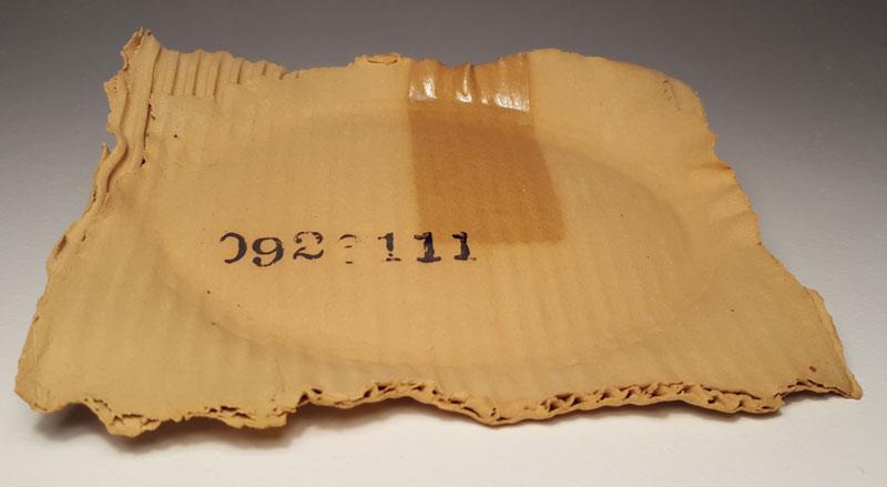 ceramic cardboard by tim kowalczyk 6 Ceramic Artist Tim Kowalczyk Can Make Clay Look Like Cardboard