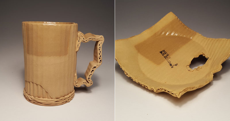 Ceramic Artist Tim Kowalczyk Can Make Clay Look Like Cardboard