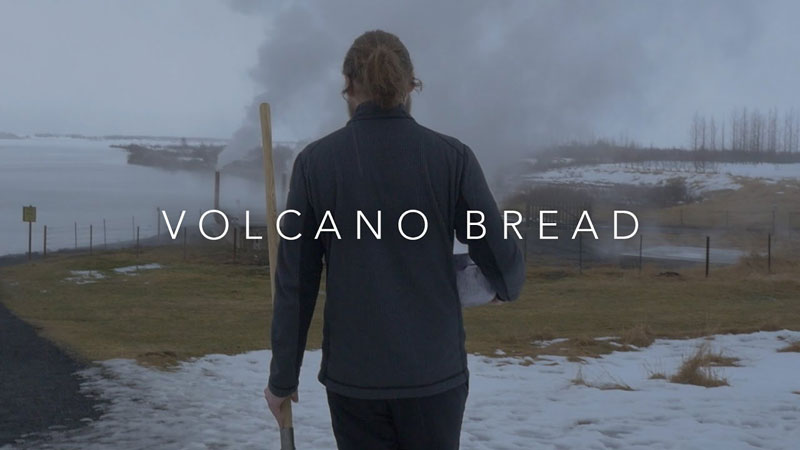 How To Make Bread With a Volcano