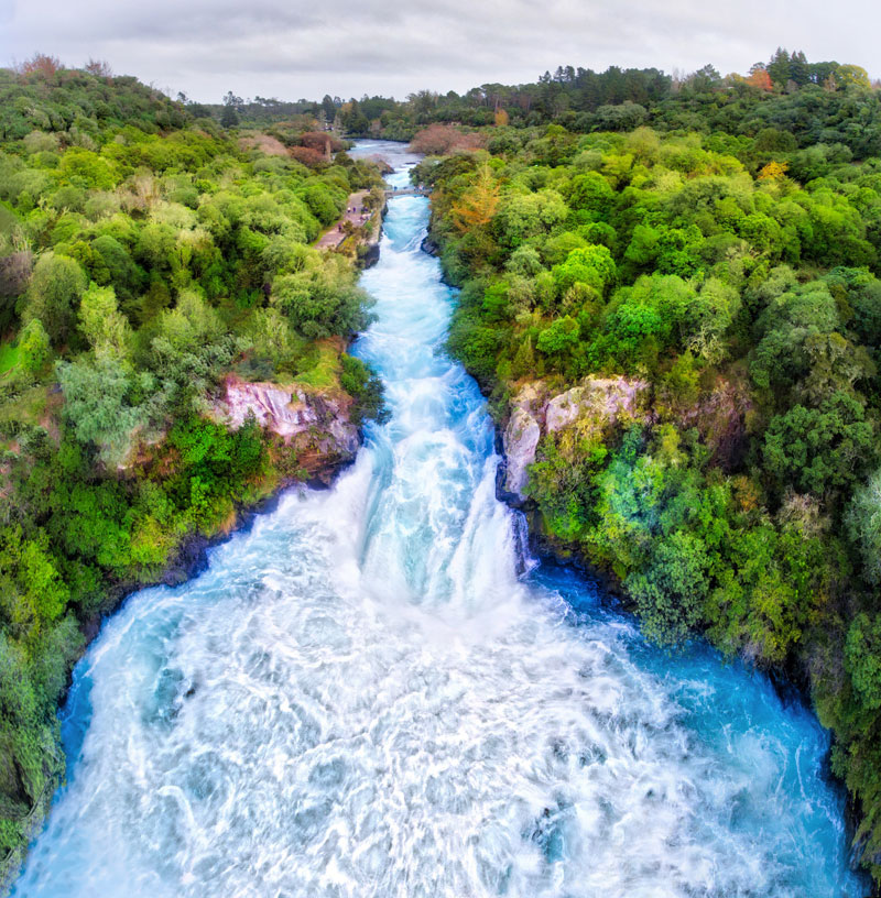 huka falls new zealand 1 Picture of the Day: Huka Falls, New Zealand