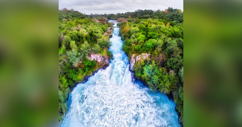 Picture of the Day: Huka Falls, New Zealand