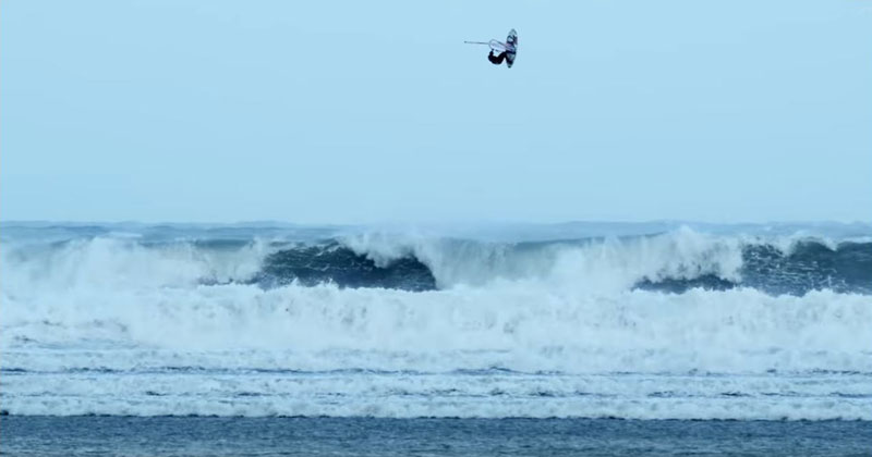 Hurricane Windsurfing Looks As Crazy As It Sounds