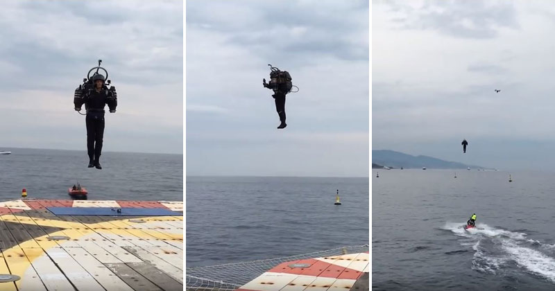 Remember the Guy Who Built His Own JetPack? It's Coming Along Nicely