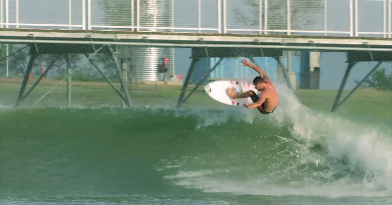 North America's First Man-Made Surf Park Opens in Austin, Texas