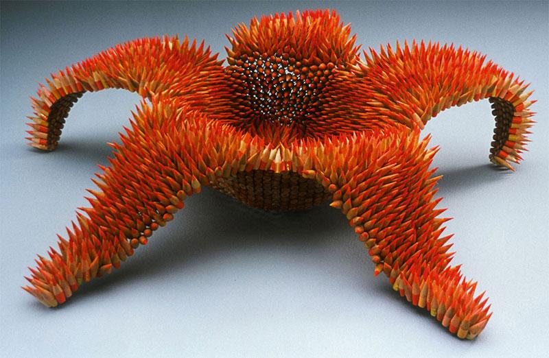 pencil sculptures by jennifer maestre 13 Jennifer Maestre Turns Ordinary Pencils Into Otherworldly Sculptures