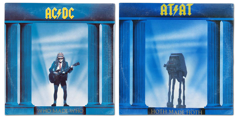 star wars album covers by steve lear why the long play face 23 If Star Wars Characters Were Musicians...