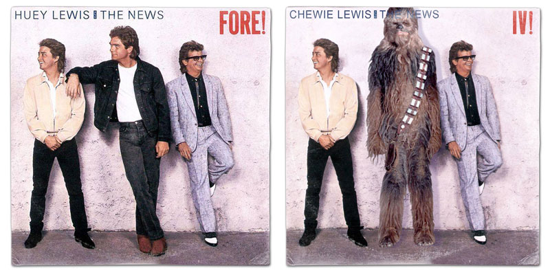 star wars album covers by steve lear why the long play face 26 If Star Wars Characters Were Musicians...