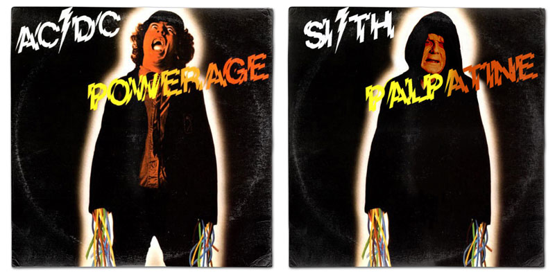 star wars album covers by steve lear why the long play face 8 If Star Wars Characters Were Musicians...