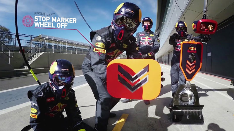 The Amazing Choreography Behind a 20 person, 2 Second, F1 Pit Stop
