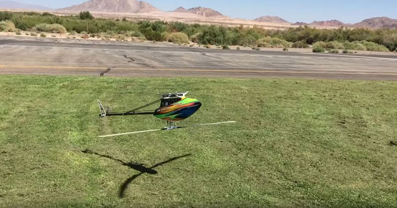This RC Helicopter Pilot is Bananas