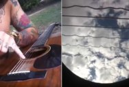 An Acoustic Rendition of Metallica's Nothing Else Matters from the Inside of a Guitar