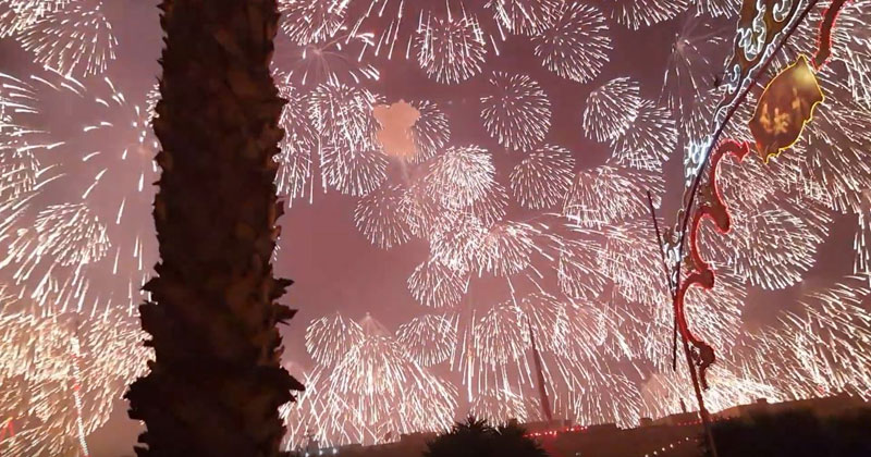Check Out the Biggest Single Firework Ever Let Off in Malta