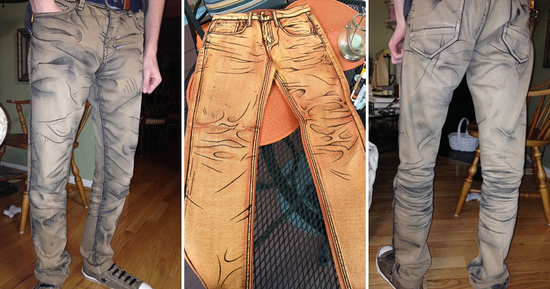 These Shaded Pants Look Pretty Cool!