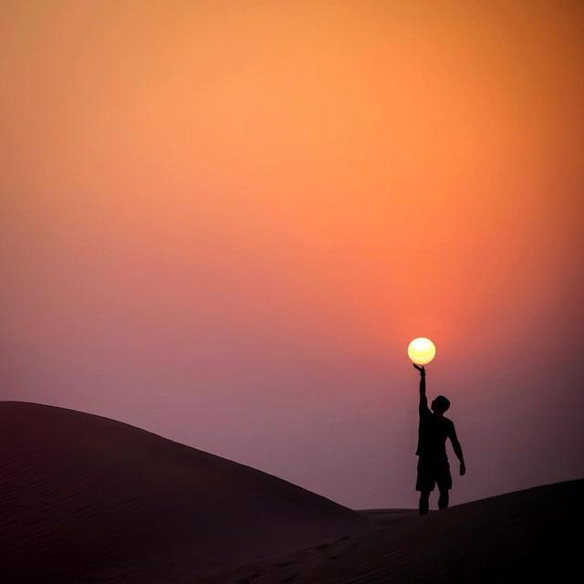desert sun moon by dennis stever 1 Desert, Sun, Moon by Dennis Stever (8 Photos)