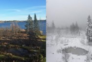 Picture of the Day: The Difference Two Days Can Make in Minnesota