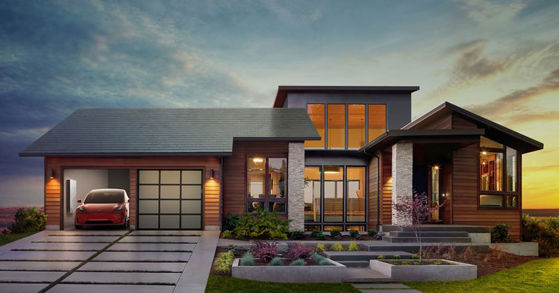 Elon Musk Wants to Replace Your Roof with Solar Shingles