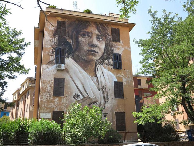 guido van helten street art 4 Colossal Humans by Guido Van Helten (12 Artworks)