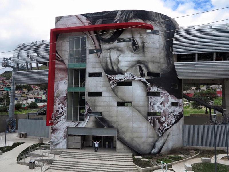 guido van helten street art 9 Colossal Humans by Guido Van Helten (12 Artworks)