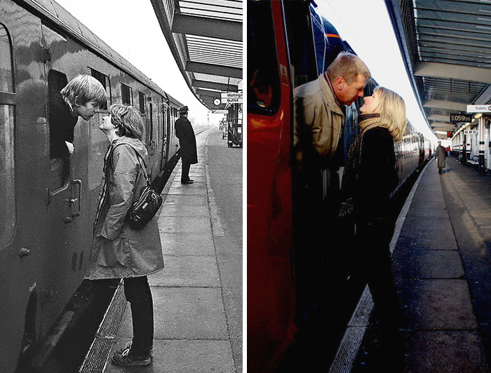 reunions by chris porsz 1 Street Photographer Recreates Photos He Took in the 80s in Amazing Reunion Series
