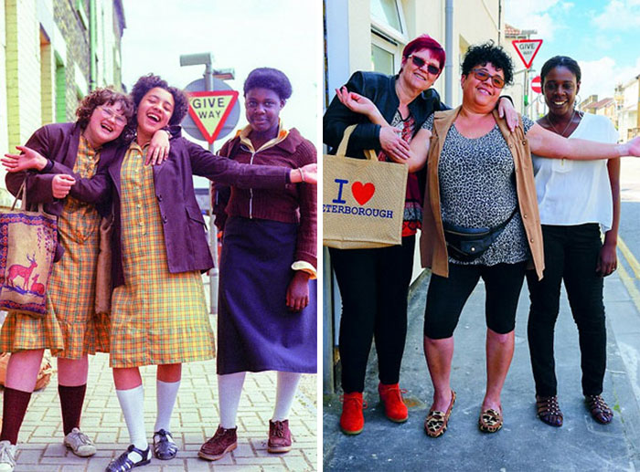 reunions by chris porsz 13 Street Photographer Recreates Photos He Took in the 80s in Amazing Reunion Series