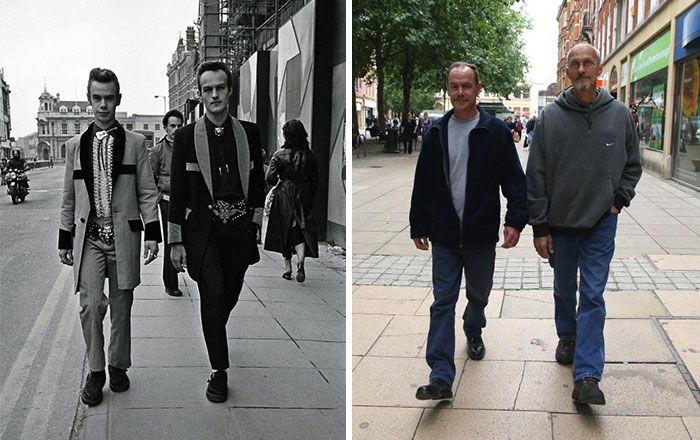 reunions by chris porsz 5 Street Photographer Recreates Photos He Took in the 80s in Amazing Reunion Series