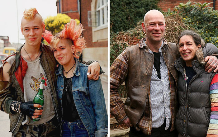 reunions by chris porsz 6 Street Photographer Recreates Photos He Took in the 80s in Amazing Reunion Series