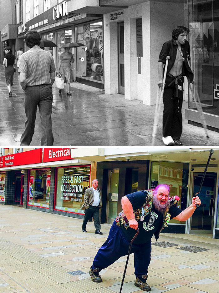 reunions by chris porsz 8 Street Photographer Recreates Photos He Took in the 80s in Amazing Reunion Series
