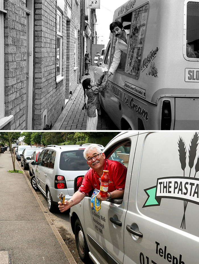 reunions by chris porsz 9 Street Photographer Recreates Photos He Took in the 80s in Amazing Reunion Series