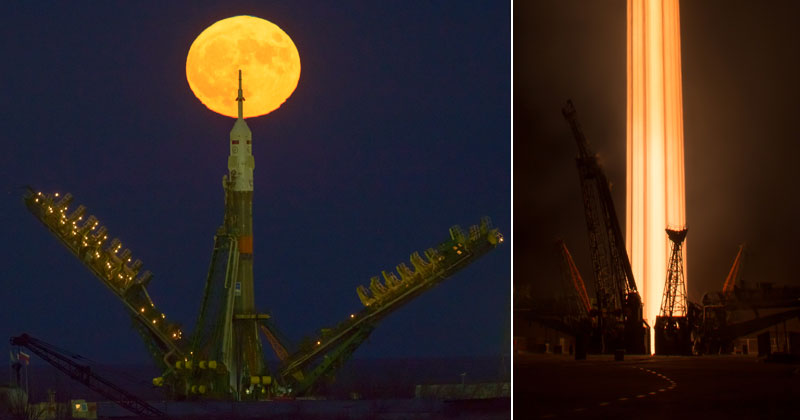 12 Highlights from the Supermoon Space Launch