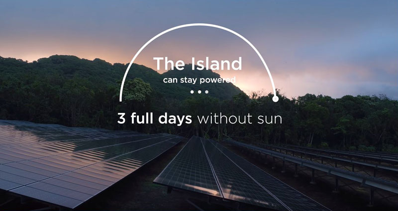 tesla powers entire island with solar energy 11 Tesla Just Powered a 600 Person Island With Renewable Solar Energy