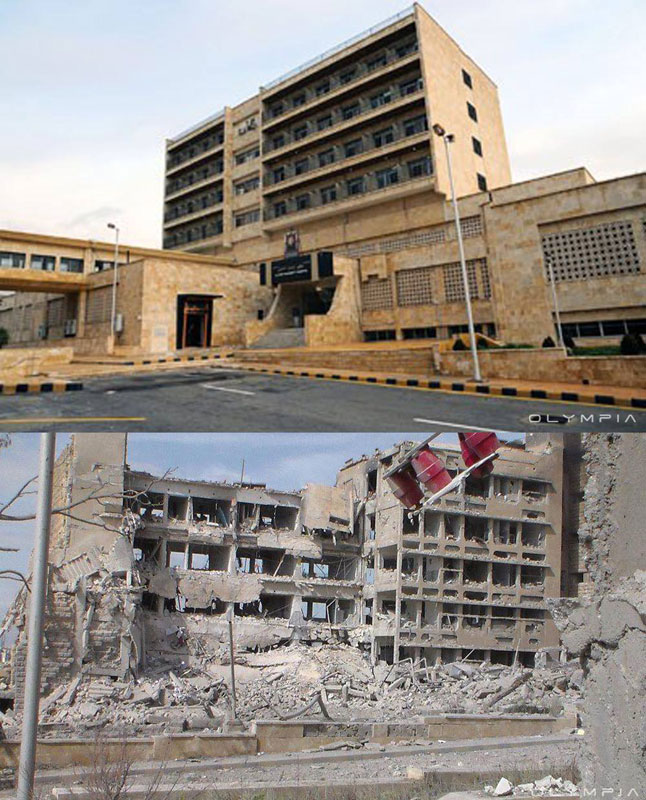 a syrian restaurant is posting before and after photos of aleppo and its heartbreaking 11 A Syrian Restaurant is Posting Before and After Photos of Aleppo and Its Heartbreaking